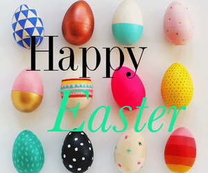 colour, easter, and eggs image
