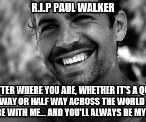 paul walker, quotes, and fast and furious image
