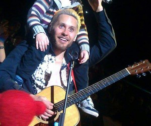jared leto, 30 seconds to mars, and kids image