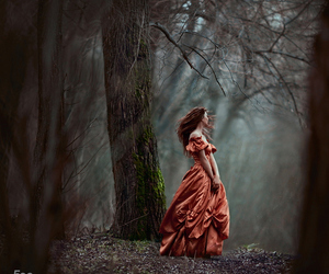 fantasy, girl, and dress image