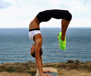 fit, yoga, and fitness image