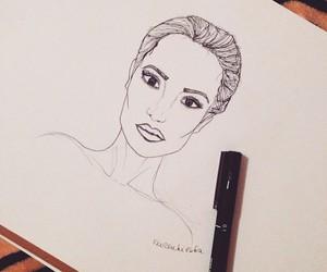 Angelina Jolie, art, and artist image