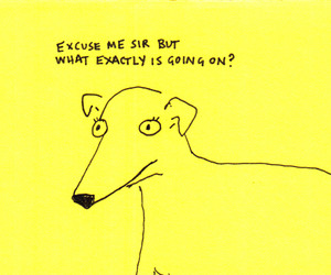 dog, quote, and art image