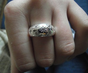 nice, women, and ring image