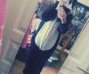 me and pandas image