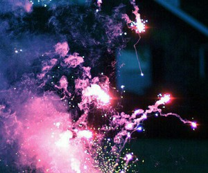 fire, fireworks, and night image