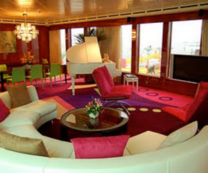 pink, luxury, and room image