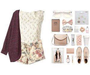 cardigan, clothes, and fashion image
