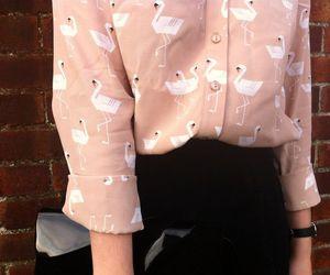 fashion and flamingo image