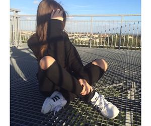 adidas, beautiful, and black image