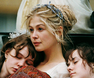 pride and prejudice, Carey Mulligan, and rosamund pike image