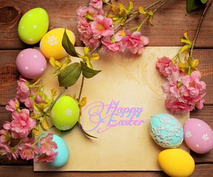 creation, eggs, and flowers image