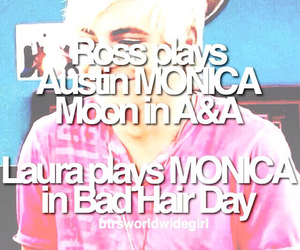 monica, r5, and ross lynch image