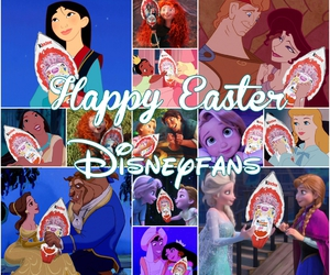 anna, disney, and easter image