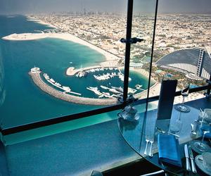 Dubai, beach, and view image