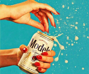beer, nails, and art image