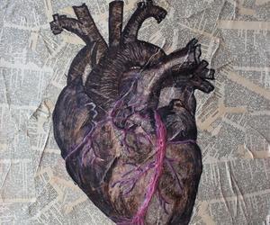 heart, art, and tumblr image