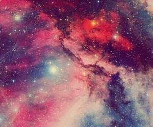 galaxy and red image