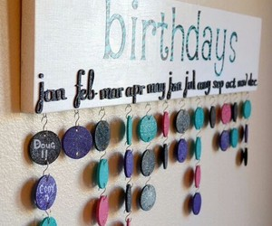 diy, birthday, and ideas image