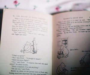 book, vintage, and winnie the pooh image