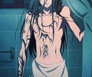 anime, cool, and tattoo image