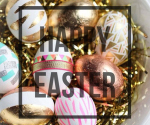easter, eggs, and golden image
