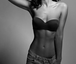 fit, perfect body, and work hard image