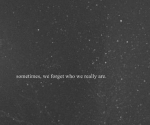 black and white, forget, and quote image