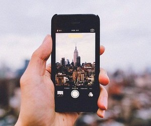 iphone, city, and photography image