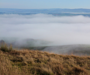 fog, peace, and sky image