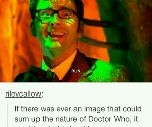 doctor who and run image