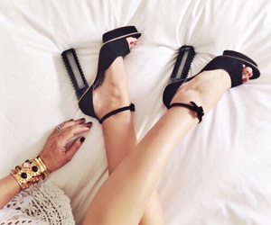 shoes, black, and girl image