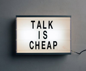 quotes, talk, and cheap image