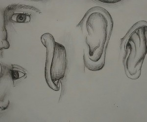 creative, ear, and face image