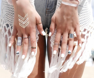 bohemian, fashion, and nails image