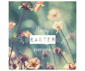 easter, flowers, and love image
