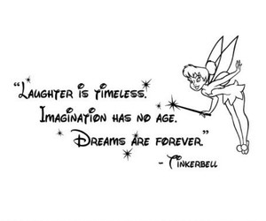 disney, tinkerbell, and quote image