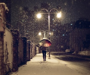 girls, snow, and winter image