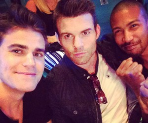 paul wesley, marcel, and The Originals image
