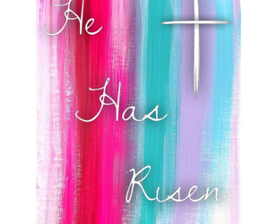 cross, easter, and god image