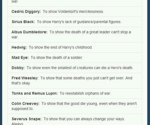 cry, fandom, and harry potter image