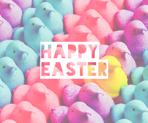 colors, easter, and peeps image