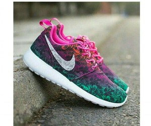 colorful, green, and nike image