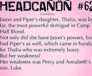 percy jackson, luke castellan, and thalia grace image