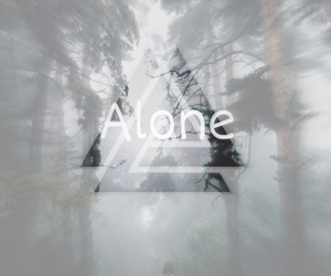alone, ew, and girl image