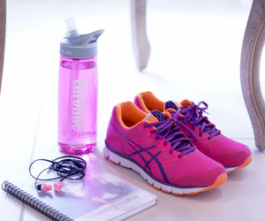 gym, shoes, and healthy image
