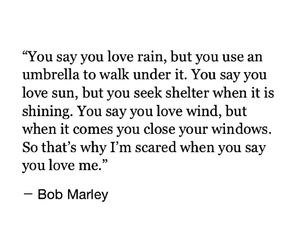 bob marley, quotes, and rain image