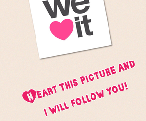 we heart it, i will follow you, and fabolus image
