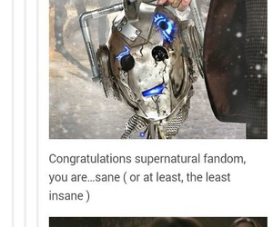 supernatural, doctor who, and funny image