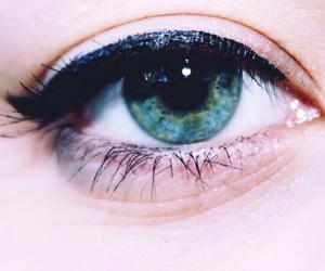 edit, eye, and eyeliner image